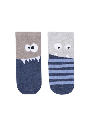 Katia & Bony Ghost Bebek Soket 2'Li  Mavi